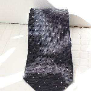 polka dot silk woven tie by Polo ralph Lauren